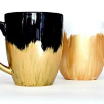 Diy Painted Mugs 30 214x214 - Top DIY Painted Mugs Ideas