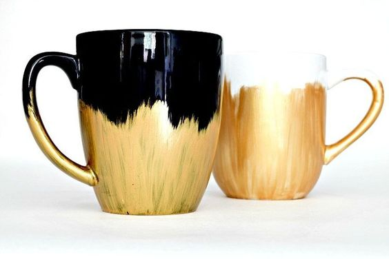 Diy Painted Mugs 30 - Top DIY Painted Mugs Ideas