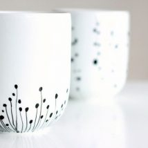 Diy Painted Mugs 31 214x214 - Top DIY Painted Mugs Ideas