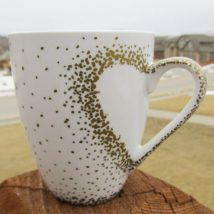 Diy Painted Mugs 32 214x214 - Top DIY Painted Mugs Ideas
