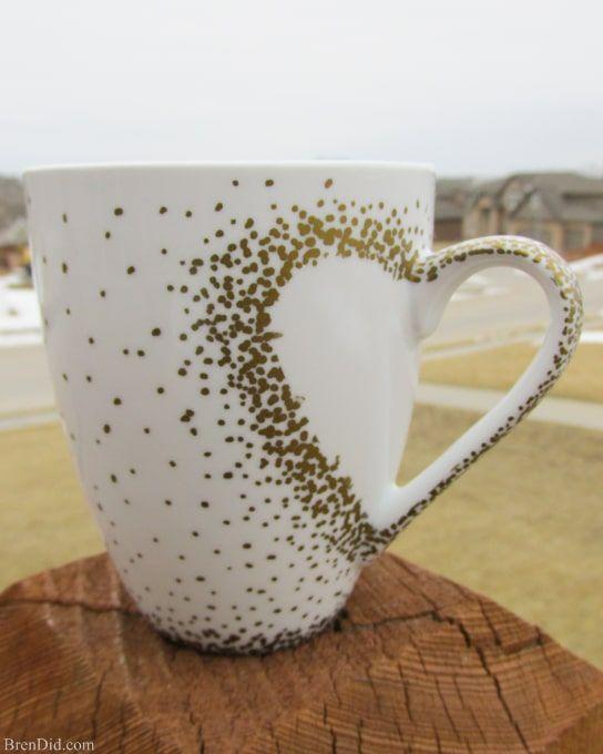Diy Painted Mugs 32 - Top DIY Painted Mugs Ideas