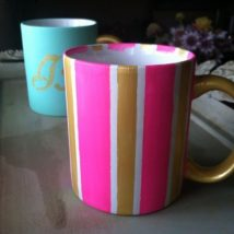 Diy Painted Mugs 35 214x214 - Top DIY Painted Mugs Ideas