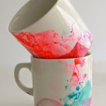 Diy Painted Mugs 37 214x214 - Top DIY Painted Mugs Ideas