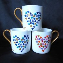 Diy Painted Mugs 4 214x214 - Top DIY Painted Mugs Ideas