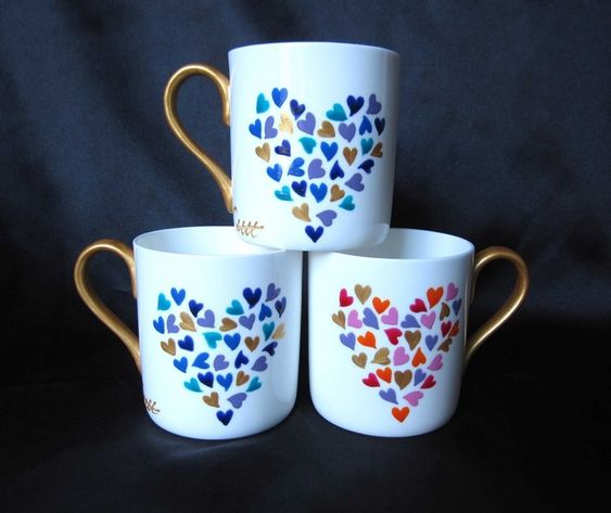 Diy Painted Mugs 4 - Top DIY Painted Mugs Ideas