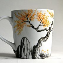 Diy Painted Mugs 41 214x214 - Top DIY Painted Mugs Ideas
