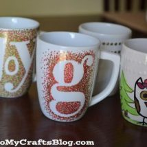 Diy Painted Mugs 42 214x214 - Top DIY Painted Mugs Ideas