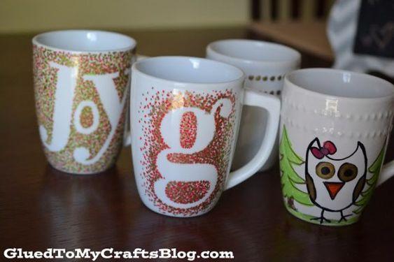 Diy Painted Mugs 42 - Top DIY Painted Mugs Ideas