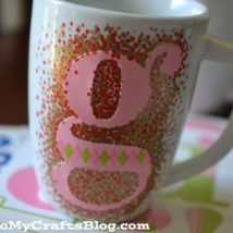 Diy Painted Mugs 44 214x214 - Top DIY Painted Mugs Ideas