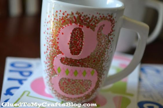 Diy Painted Mugs 44 - Top DIY Painted Mugs Ideas