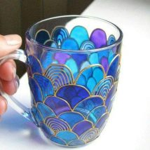 Diy Painted Mugs 45 214x214 - Top DIY Painted Mugs Ideas