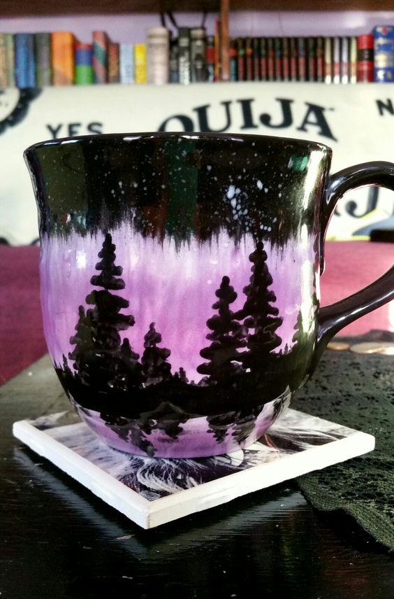 Diy Painted Mugs 49 - Top DIY Painted Mugs Ideas