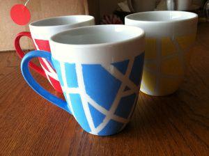 Diy Painted Mugs 5 - Top DIY Painted Mugs Ideas