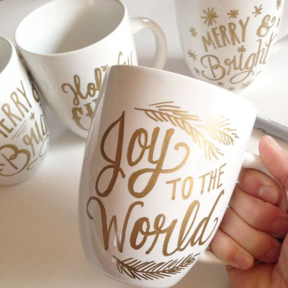 Diy Painted Mugs 50 - Top DIY Painted Mugs Ideas