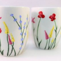 Diy Painted Mugs 6 214x214 - Top DIY Painted Mugs Ideas