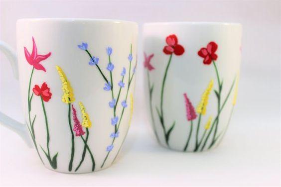 Diy Painted Mugs 6 - Top DIY Painted Mugs Ideas