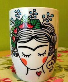 Diy Painted Mugs 7 - Top DIY Painted Mugs Ideas