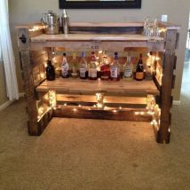 Diy Pallet Bar 1 214x214 - 50+ DIY Ideas for Wood Pallet Bars