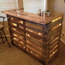 Diy Pallet Bar 12 214x214 - 50+ DIY Ideas for Wood Pallet Bars
