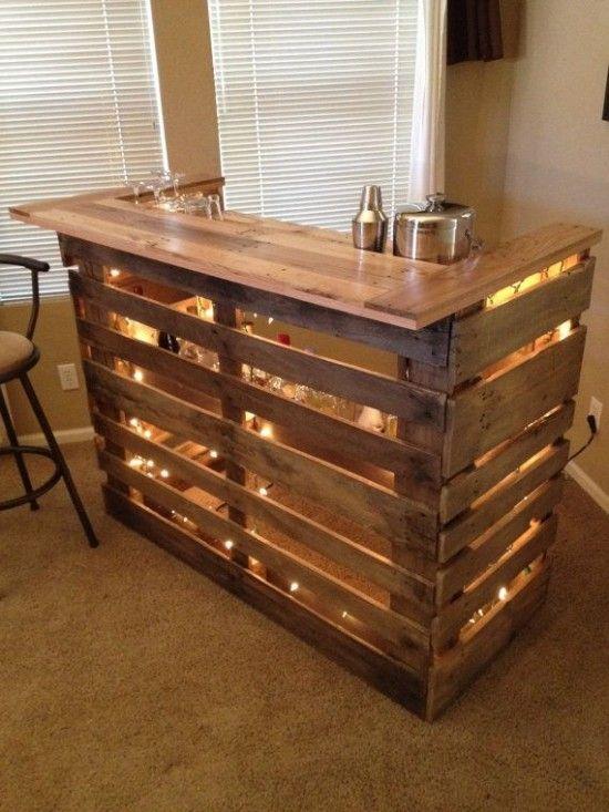 Diy Pallet Bar 12 - 50+ DIY Ideas For Wood Pallet Bars