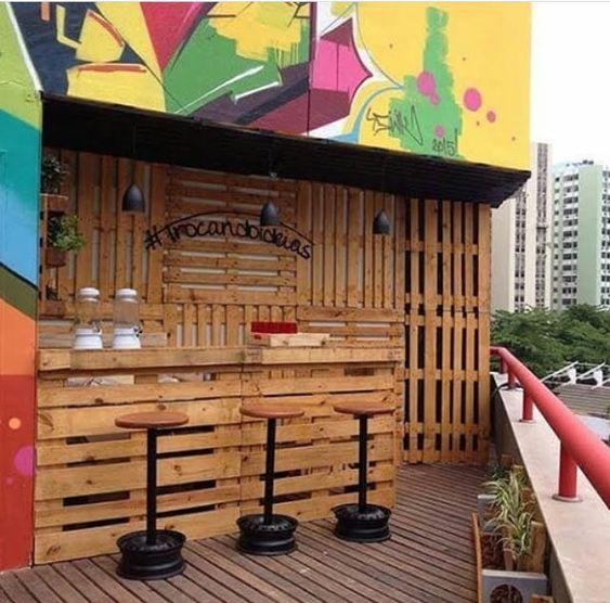 Diy Pallet Bar 13 - 50+ DIY Ideas For Wood Pallet Bars