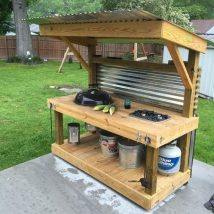 Diy Pallet Bar 2 214x214 - 50+ DIY Ideas for Wood Pallet Bars