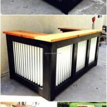 Diy Pallet Bar 20 214x214 - 50+ DIY Ideas for Wood Pallet Bars