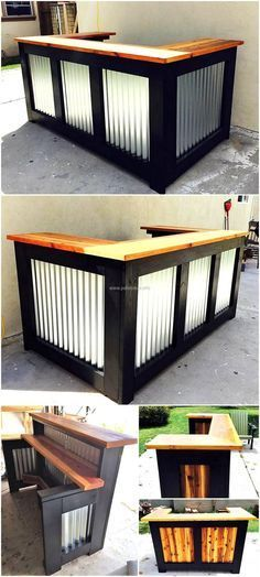 Diy Pallet Bar 20 - 50+ DIY Ideas For Wood Pallet Bars
