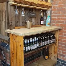 Diy Pallet Bar 27 214x214 - 50+ DIY Ideas for Wood Pallet Bars