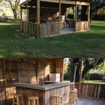 Diy Pallet Bar 28 214x214 - 50+ DIY Ideas for Wood Pallet Bars