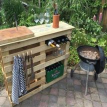 Diy Pallet Bar 31 214x214 - 50+ DIY Ideas for Wood Pallet Bars