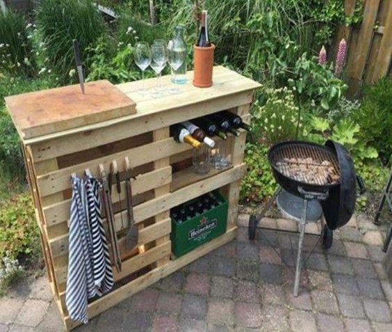 Diy Pallet Bar 31 - 50+ DIY Ideas For Wood Pallet Bars
