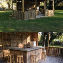 Diy Pallet Bar 32 214x214 - 50+ DIY Ideas for Wood Pallet Bars