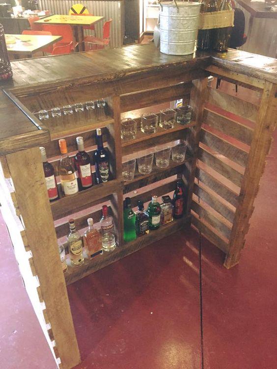 Diy Pallet Bar 34 - 50+ DIY Ideas For Wood Pallet Bars