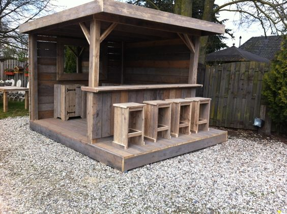 Diy Pallet Bar 6 - 50+ DIY Ideas For Wood Pallet Bars