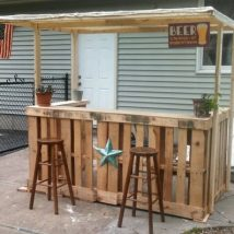 Diy Pallet Bar 7 214x214 - 50+ DIY Ideas for Wood Pallet Bars