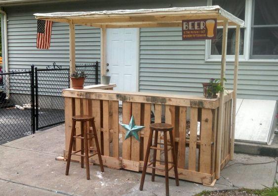Diy Pallet Bar 7 - 50+ DIY Ideas For Wood Pallet Bars