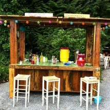 Diy Pallet Bar 9 214x214 - 50+ DIY Ideas for Wood Pallet Bars