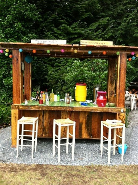 Diy Pallet Bar 9 - 50+ DIY Ideas For Wood Pallet Bars