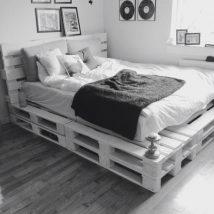 Diy Pallet Bed 10 214x214 - Amazing DIY Pallet Bed Ideas