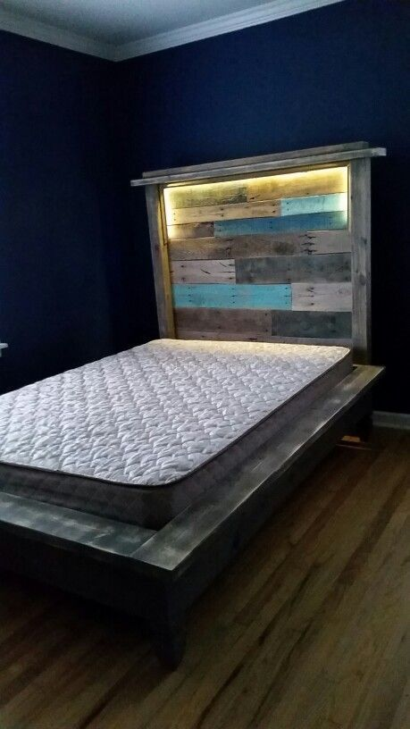 Diy Pallet Bed 13 - Amazing DIY Pallet Bed Ideas