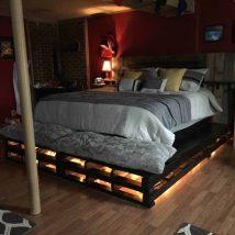 Diy Pallet Bed 17 214x214 - Amazing DIY Pallet Bed Ideas