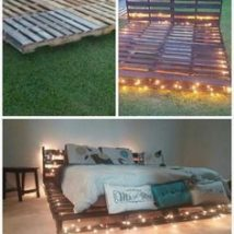 Diy Pallet Bed 18 214x214 - Amazing DIY Pallet Bed Ideas