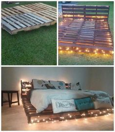Diy Pallet Bed 18 - Amazing DIY Pallet Bed Ideas