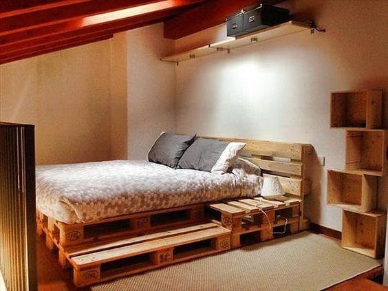 Diy Pallet Bed 19 - Amazing DIY Pallet Bed Ideas