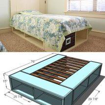 Diy Pallet Bed 22 214x214 - Amazing DIY Pallet Bed Ideas