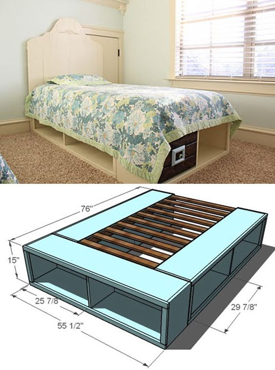 Diy Pallet Bed 22 - Amazing DIY Pallet Bed Ideas