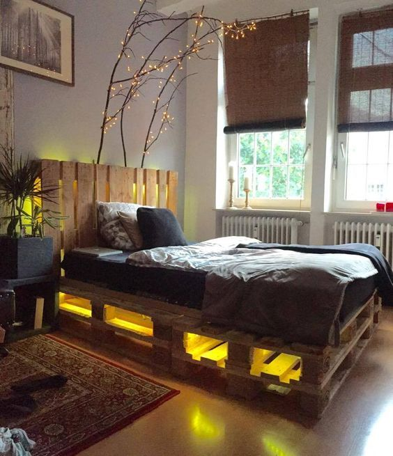 Diy Pallet Bed 25 - Amazing DIY Pallet Bed Ideas