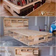 Diy Pallet Bed 28 214x214 - Amazing DIY Pallet Bed Ideas