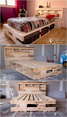 Diy Pallet Bed 28 - Amazing DIY Pallet Bed Ideas